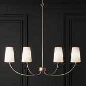 Ballard Design Lottie Linear Chandelier