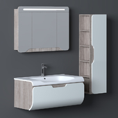 Nplus Golf 100 Bathroom Cabinet Set