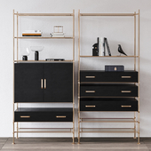 Essential Home Delightfull Mulligan bookcase