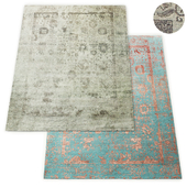 Botanica Hand-Knotted Rug RH Collection