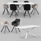 TARANTO Table_MILTON Chair