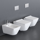 Duravit Viu Wall-hung WC