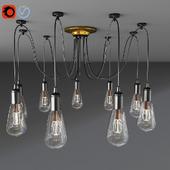 Pendant Lighting 10-Heads Vintage Multiple Adjustable Light