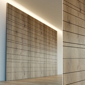 Wall panel made of wood. Decorative wall. 26