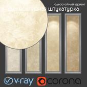 Decorative plaster, single-layer option 102
