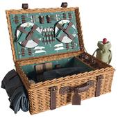 """""""Les Jardins de la Comtesse"""" picnic set (vray NEXT)"""