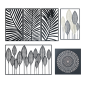 Maisons du Monde Wall Decoration 2