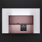 Pink & White Kitchen