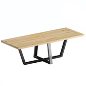 Oak table - Barcelona Oldwood
