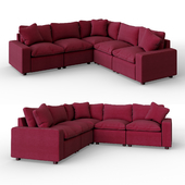 Savesto Charcoal Sectional