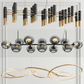 Suspension Linear Chandelier - 3 type