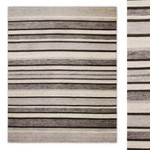 Zuma Stripe Handwoven Flatweave Rug RH