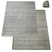 Everett Handwoven Flatweave Rug RH Collection