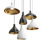 Pablo Swell Wide Single Pendant Light