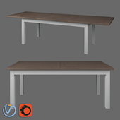Dining table Dantone Home Oxford large folding