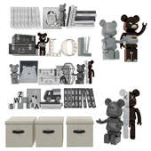 Decorative set for children 8