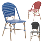 THAMES STACKING PATIO DINING CHAIR