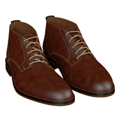 Men brown shoes