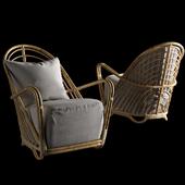Arne Jacobsen Sika Design -Charlottenborg Lounge Chair (на перезаливку)