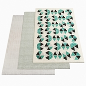 Three AMINI rugs - 1-50