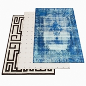 Three AMINI rugs - 1-51
