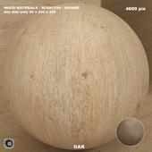 Материал дерево / дуб (бесшовный) - set 73