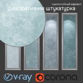 Decorative plaster, single-layer option 106