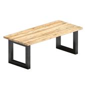 Barnwood dining table - Rotterdam Oldwood