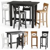 Барный стол и стул Стурнэс Ингольф