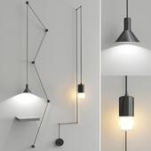 Groppi Hanging & Wireflow FreeForm Lamp