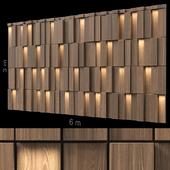 Декоративная стена 245.