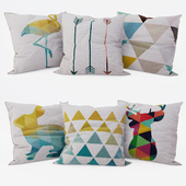 Decorative Pillows set 8