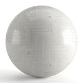 Seamless texture of bleached parquet. PBR