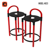 Model 4823 stool by Anna Castelli Ferrieri for Kartell
