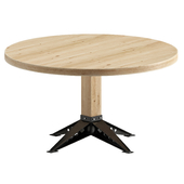 Round dining table - Graz Oldwood
