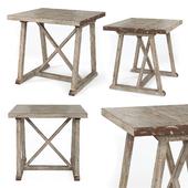 Gatewood brown cross creek end table