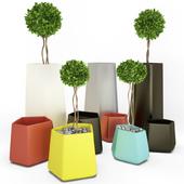 Plastic Pots Collection Rockgarden
