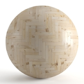 Seamless texture of larch parquet. PBR