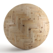 Seamless texture of larch parquet v2. PBR