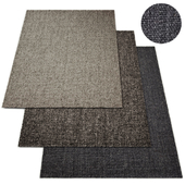 Harris Chunky Basket Weave Rug RH Collection