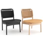 Saga lounge chair by Ariake