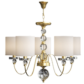 American Style 5 Arms Fabric Lamp