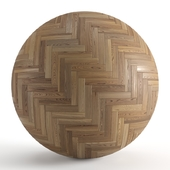 Seamless texture of solid wood parquet. PBR