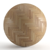 Seamless texture of parquet from solid oak v2. PBR