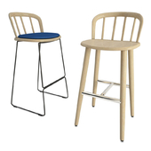 Nym Wooden Bar Stools