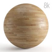 Seamless texture of oak parquet. PBR 8k