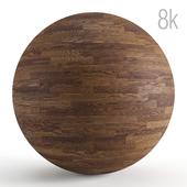 Seamless texture of dark oak parquet. PBR 8k