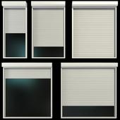 Витражные окна с рольставни