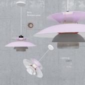 Подвесной светильник Poul Henningsen PH5 Grey Pink Pendant Lamp