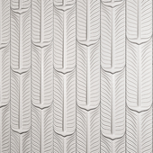 3D Panel  feather